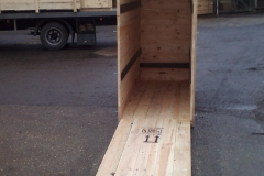 ISPM-15 PACKING CASE WITH RAMP DOOR