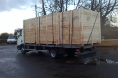 LARGE PACKING CASES ISPM-15 EXPORT