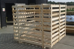 LARGE TIMBER OPEN STYLE CRATE