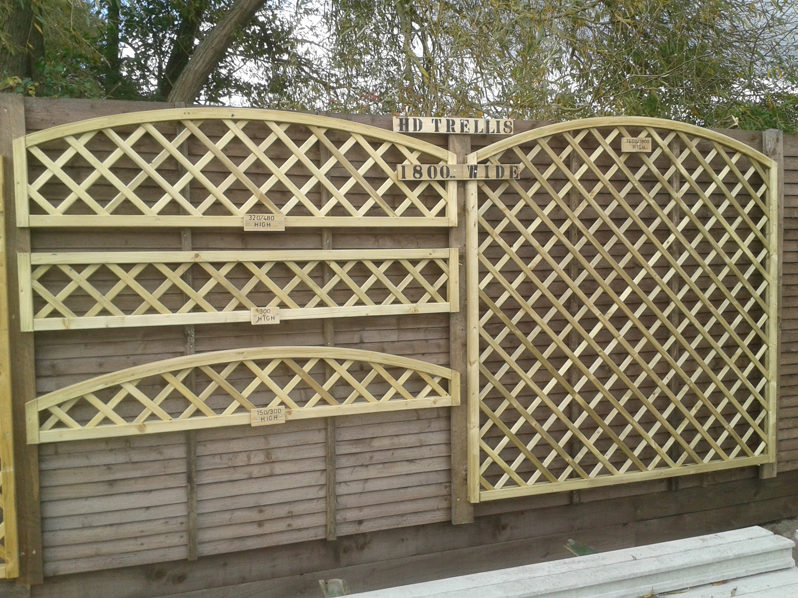 European Panels Amp Trellis Gallery Marks Tey Products
